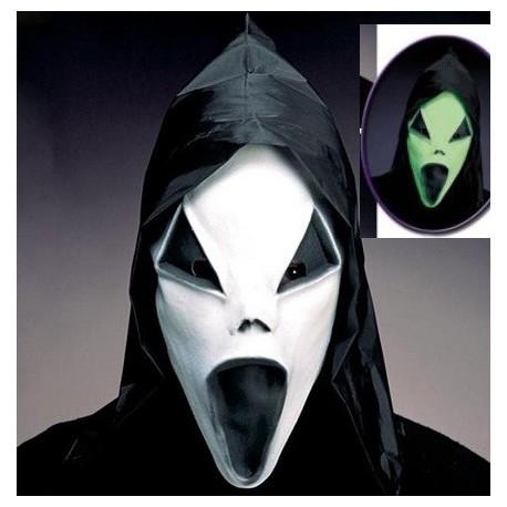 Máscara Screen para disfraz latex se ilumina