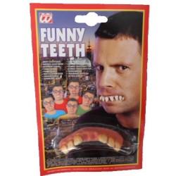 Dentadura divertida para disfraz