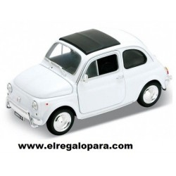 Fiat Nuova 500 escala 1:24 Welly