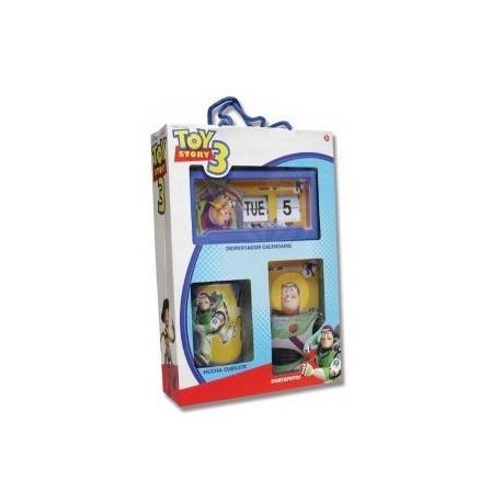 Despertador Calendario más hucha más portafotos Toy Story