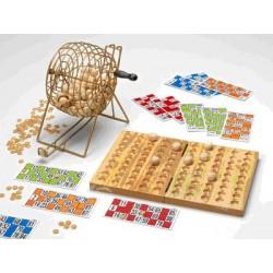 Juego Bingo DELUXE madera