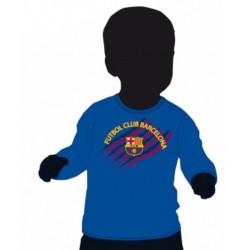 Camiseta bebé Fc Barcelona manga larga
