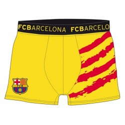Pack 3und calzoncillos Slip FC Barcelona niño