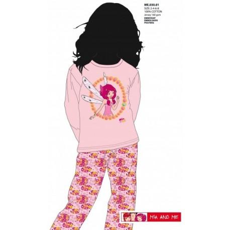 Pijama Mia and Me niña invierno