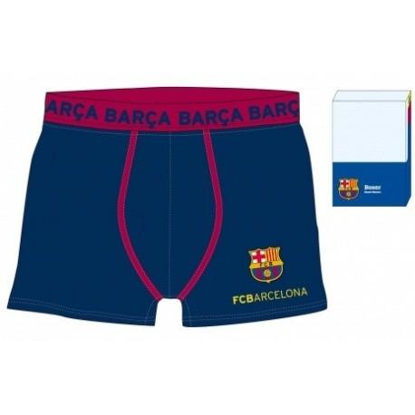 Boxer FC Barcelona niño QUATRO BARRAS
