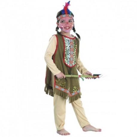 Disfraz india apache infantil 4-6 años