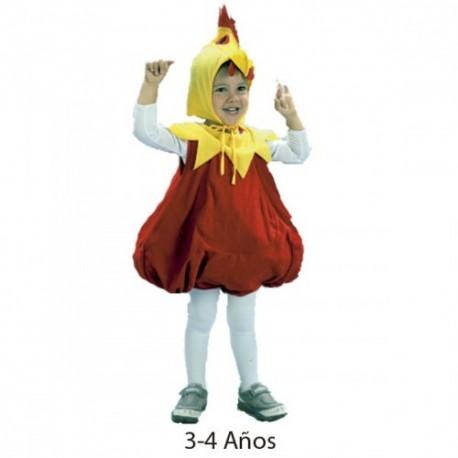 Disfraz pollito infantil 3-4 años