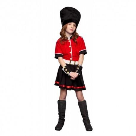 Disfraz niña guardia ingles 5 a 12 años
