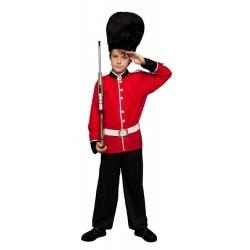 Disfraz niño guardia ingles 5 a 12 años