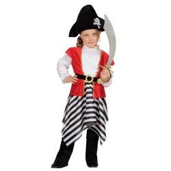 Disfraz infantil pirata 1 a 3 años