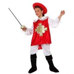 Disfraz infantil mosquetero 3 a 12 años