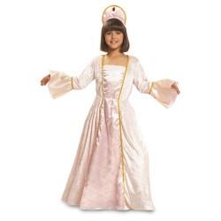 Disfraz infantil princesa rosa 1 a 6 años