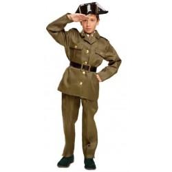 Disfraz infantil Guardia Civil con tricornio 7 a 12 años