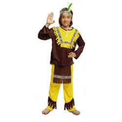 Disfraz infantil niño indio 1 a 12 años