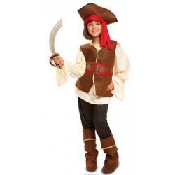 Disfraz infantil bucanera 5 a 12 años