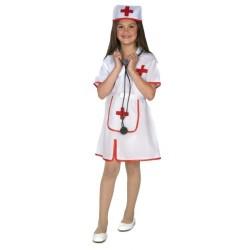 Disfraz infantil enfermera 3 a 11 años