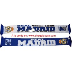 Bufanda Real Madrid doble LA DECIMA