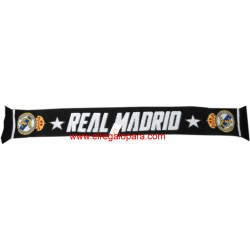 Bufanda Real Madrid doble Negra