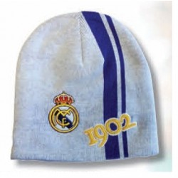 Gorro lana Real Madrid blanco historia adulto