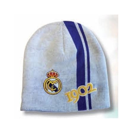 Gorro lana Real Madrid blanco historia adulto