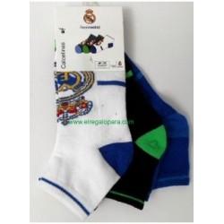 Real Madrid Calcetín Pack 3und Bebé