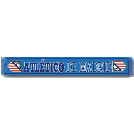 Bufanda Atlético de Madrid Azul