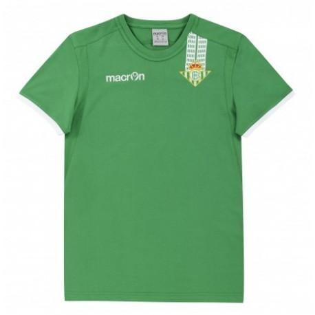 Camiseta Oficial del Real Betis Balompié MACRON Temporada 14-15 bebé