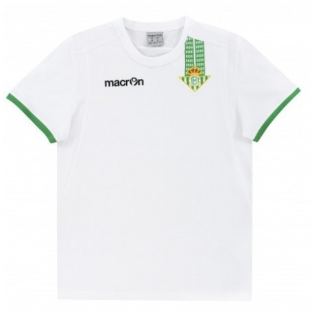 Camiseta Oficial del Real Betis Balompié MACRON Temporada 14-15 niño