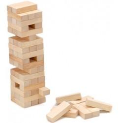 Juego de torres de madera similar al Jenga