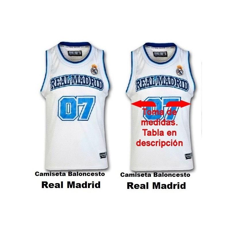 7aeb7211 Camiseta baloncesto Real Madrid - Tienda Real Madrid productos oficiales