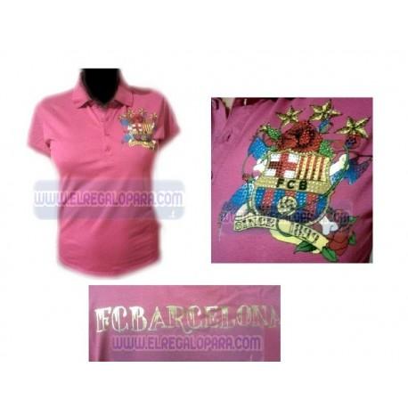 Polo Fútbol Club Barcelona mujer