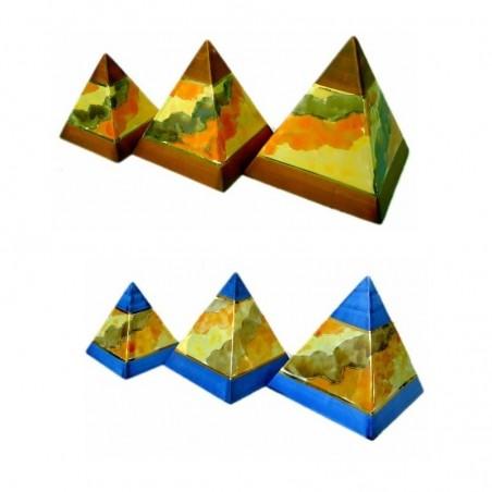 Juego 3 pirámides decoración