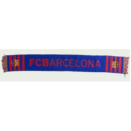 Bufanda del Fútbol Club Barcelona 140x20cm azul
