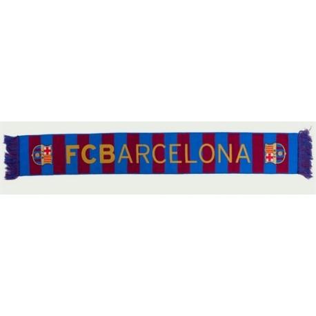 Bufanda del Fútbol Club Barcelona 140x20cm alta definición vertical