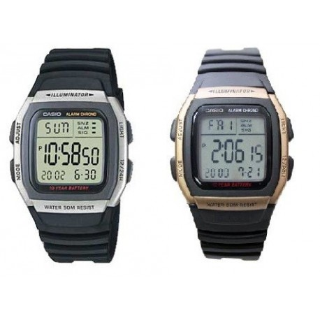Reloj Casio Caballero W-96H
