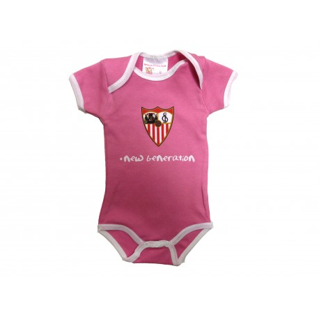 Body rosa bebé Sevilla Fútbol Club