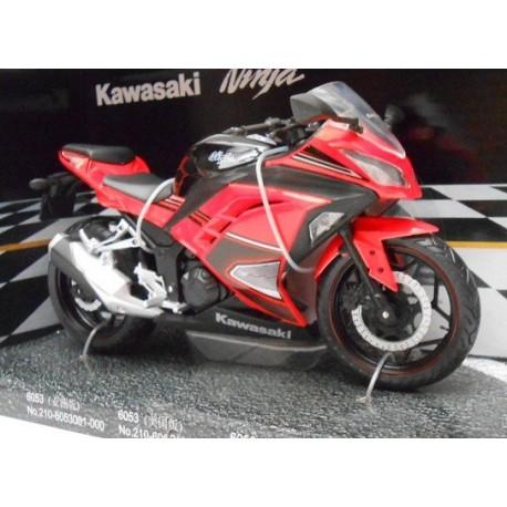 Kawasaki Ninja Rojo escala 1:12 de Automaxx