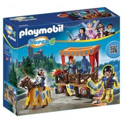 Playmobil 6695 Tribuno Real con Alex Playmobil Super4
