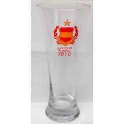 Vaso cerveza España Campeones mundo 2010