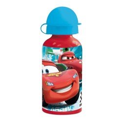 Botella aluminio Cars Rayo Mcqueen