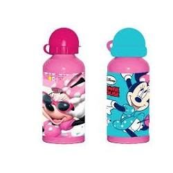 Botella aluminio Minnie Mouse 500ml surtido