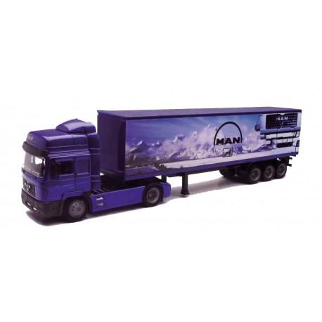 Camión Man F2000 Container 1:43 NewRay