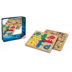 Comprar precio Juego de mesa la Oca y Parchís de madera - Tienda juegos de mesa baratos