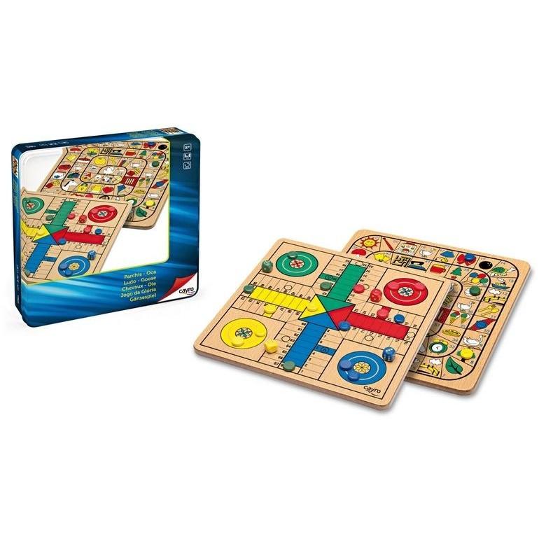 Comprar precio juego de mesa la oca y parch s de madera tienda juegos de mesa baratos - La oca juego de mesa ...