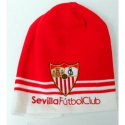 Gorro invierno Sevilla Fútbol Club junior infantil