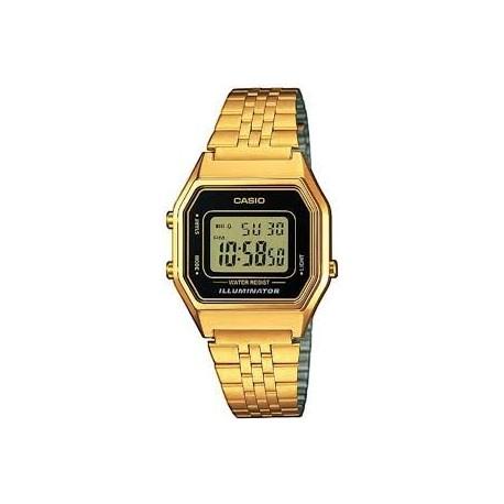Reloj casio dorado señora LA680WEGA-1ER