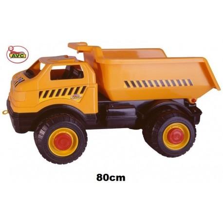 Mega Camión volquete plástico 80cm