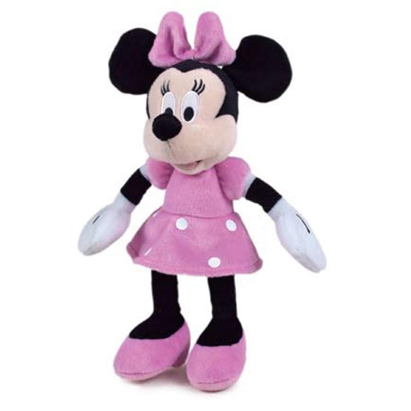 peluche minnie mouse 30cm disney comprar tienda productos oficiales. Black Bedroom Furniture Sets. Home Design Ideas