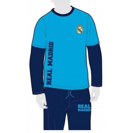 Pijama Real Madrid niño invierno polar Tallas 8 a 16