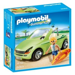 Playmobil 6069 Surfista con Descapotable